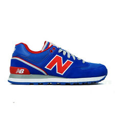 "New Balance ""Stadium Jacket"" ML574SJR (Royal Blue/Red) Men's Shoes"