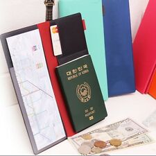 Fenice Link the mind-Passport/Card/Paper Money/Document Holder Case Cover Wallet