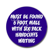 MUST BE FOUND 25mm BADGE / POLICEWOMAN FANCY DRESS OUTFIT ACCESSORIES handcuffs