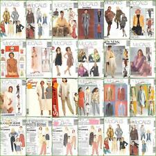 OOP McCalls Sewing Pattern Misses Various Plus Size Selections 16 18 20 22 24