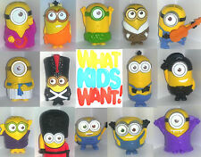 ♥♥MCDONALDS 2015 MINIONS PLEASE CHOOSE YOUR TOYS TO COMPLETE YOUR SET BNIP ♥♥