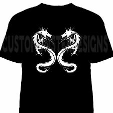 Tribal Dragon Double Dragons Custom T shirt