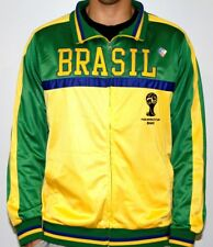 Brasil Brazil FIFA 2014 World Cup Soccer Embroidered Track Jacket