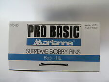 Marianna Supreme Bobby Pins Metal Hair Styling Clips Grips 720 Peices 1 lb.