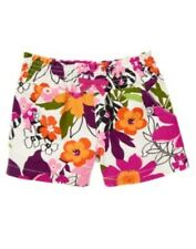 GYMBOREE WILD FOR ZEBRA FLOWER N GEM POCKET WOVEN SHORTS 4 5 6 7 8 9 12 NWT