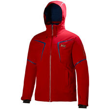 (AC7)  Helly Hansen Stoneham Giacca Sci, Red