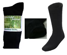 MEN MENS BAMBOO Thick WORK SOCKS Heavy Duty CUSHION Hiking Size 6-11,11-14 Bulk