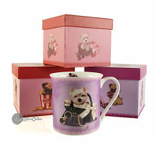 Dog and Cat mugs with various deigns - Gift boxed for that special present....