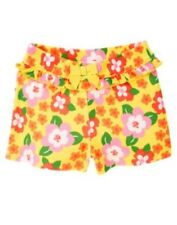 GYMBOREE STRAWBERRY SWEETHEART YELLOW FLOWER KNIT SHORTS 3 6 12 18 24 2T 3T 4T 5