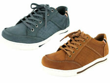 SALE MENS MAVERICK CASUAL LEATHER LACE UP TRAINERS STYLE SHOES A2112 £19.99