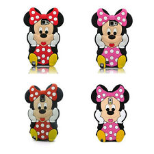 Cute Disney Minnie Mickey Mouse Silicone Case Cover for Samsung Galaxy Note 2/3