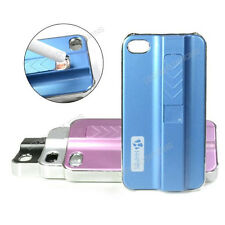 USB Rechargeable Electronic Cigarette Cigar Lighter Skin Case For iPhone 4 4S