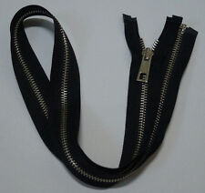 Metal Open End  black zipper #5,Zips,Zipper,#2 Slider(10Inch~30Inch)