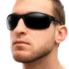 Nitrogen POLARIZED Sunglasses Mens Sports Wrap Fishing Golfing Driving Glasses
