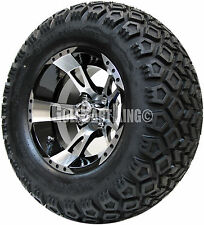 "12"" RHOX RX210 Wheel with Tire Combo and EZGO Golf Cart Lift Kit"