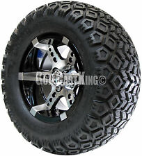 "12"" RHOX RX250 Wheel with Tire Combo and EZGO Golf Cart Lift Kit"