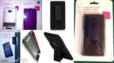 Lot OEM TMobile D3O Body-Glove Cover Case Holster Combo For HTC Windows Phone 8X
