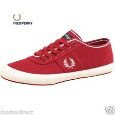 Fred Perry Men's Ross Canvas Pumps Regal Shoe/Trainer  Free Delivery All Sizes