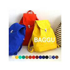 BAGGU BACKPACK - 100% Recycled Cotton  CANVAS BACKPACK, eco bag, shopping bag