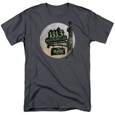 The Munsters Moonlit Address 1313 Mockingbird Lane NBC TV Show T-Shirt Tee