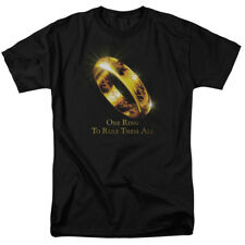The Lord of The Rings Movie One Ring to Rule Them All Adult T-Shirt Tee
