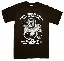 The Hangover 2 Movie Monkey Weenis Nibbler Funny Movie T-Shirt Tee