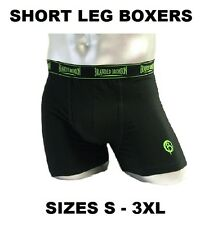 1x Men's Short Leg Boxers Branded Bronson S M L XL 2XL 3XL Cotton Boxer FREE P&H