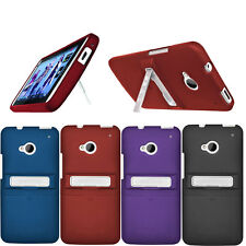 Seidio Tough Durable Case Cover Skin Surface w/ Metal Kickstand for HTC One M7