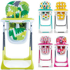 Cosatto NOODLE SUPA MULTI-POSITION HIGH CHAIR Feeding Dinner Baby/Toddler NEW