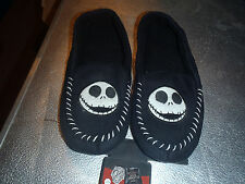 NIGHTMARE BEFORE CHRISTMAS  HOUSE SLIPPERS NEW RUBBER BOTTOMS ADULT SIZES