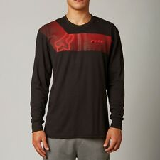 Fox Racing Ravine Long Sleeve Tech Tee Shirt Black