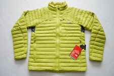 THE NORTH FACE Mens THUNDER MICRO DOWN JACKET PUFFER LIME GREEN SIZES NWT