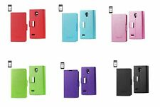For LG Optimus L9 P769 Magnetic closure Wallet FLIP CASE