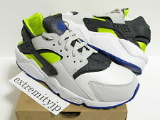 2013 NIKE AIR HUARACHE white/cyber-anthracite 318429-130 Various sizes