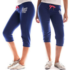 LONSDALE GEORDI QUALITY Women's 3/4 Gym Track Pants Leggings Run Workout Casual