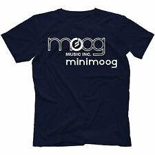 Minimoog T-Shirt 100% Cotton Analog Synth Retro Synthesizer Voyager