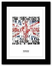 THE BEATLES - A Day In The Life  ❤ song lyrics typography poster art print #2