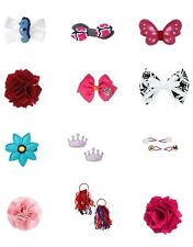 Gymboree girls HAIR accessories clips U CHOOSE NWT OS 2t 3t 4t 5t 6 7 8 9 10