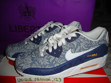 WMNS NIKE AIR MAX 90 LIBERTY QS UK 3 4 5 6 7 8 9 LIB LONDON ANOOSHA LORA PRINT 1