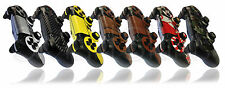 Playstation 4 PS4 Controller Skin in Carbon Fibre Wood Metal Leather Matt Decal