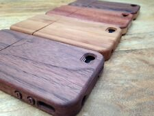 LUXURY NATURAL HARD WOODEN PROTECTOR CASE REAL WOOD COVER FOR APPLE IPHONE 4 4S