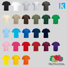 Fruit of the Loom t shirts tee valueweight FOTL mens womens cheap t-shirt New
