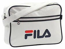 Fila Retro Messenger Shoulder Bag College Laptop Holdall Gym Satchel
