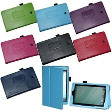 Folio Slim Fit PU Leather Case Cover for DELL Venue 8 inch Android Tablet Stand