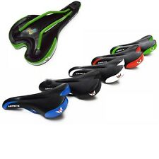 New Cycling Bike Bicycle Comfort Gel Saddle Mountain Road Bike Seat 5 Colors