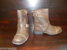 NEW MENS Leather UGG ROCKVILLE II DUNE Biker Work Boot Leather Insole All Sizes
