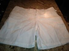 Izod Ripstop Mens Shorts In White Or Teal NEW WITH TAGS MSRP $60
