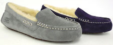 UGG Australia W's Ansley Moccasin Slipper (Prvl, Lgry) 3312 New & Authentic