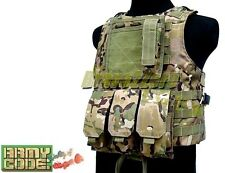 MOLLE FSBE Style Plate Carrier Tactical Combat Vest Airsoft Hunting 4 COLOURS