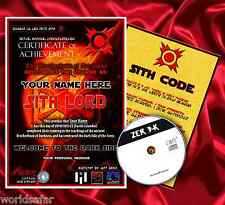 STAR WARS SITH LORD BIRTHDAY GIFT - FULL PERSONALISED + FREE GAME